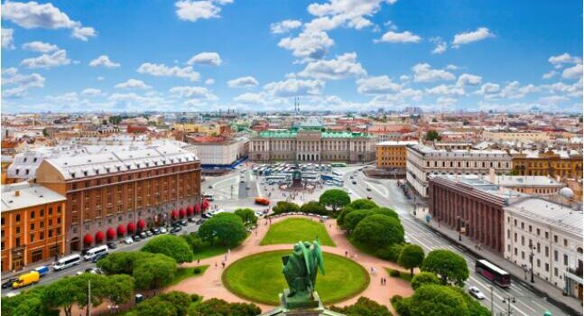 FLIGHTS, ACCOMMODATION AND MOVEMENT IN ST. PETERSBURG