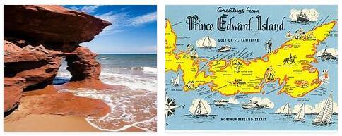 Prince Edward Island in Canada
