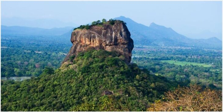 Sri Lankan Lion Rock