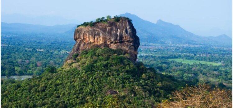 Sri Lankan Lion Rock